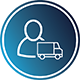 Řidič nákladního automobilu