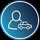 Řidič osobního automobilu