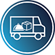 Rozvoz zboží, jídla, materiálu